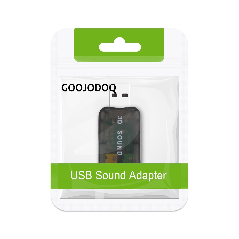Внешний USB-адаптер звуковой карты - Компьютерные компоненты - Фотография 6