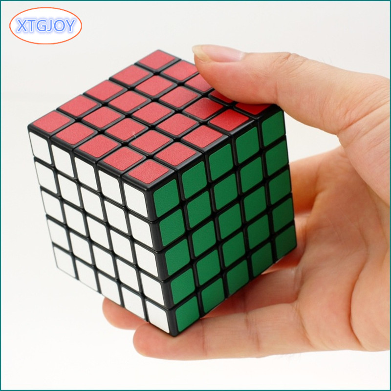 1Pcs High Quality 5x5x5 Square Shape Speed Magic ABS Scrub Cube Puzzle Children Kids Educational Cubo