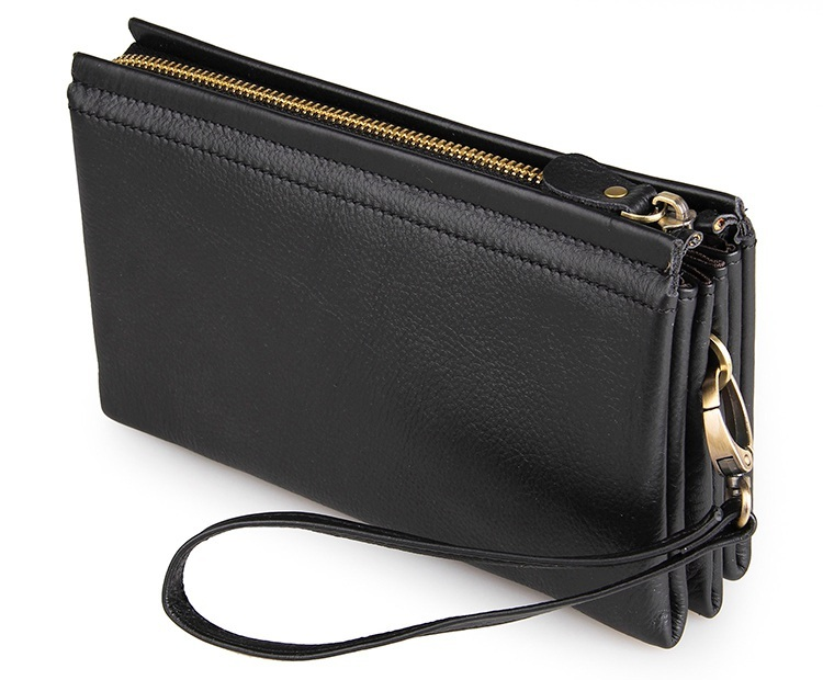 Augus Casual Soild Male Purse Credit Card Package Case Male Casual Clutch Bag Simple Style Wristlet Handbags 8071A-2 augus casual soild male purse credit card package case clutch bag simple style wristlet handbags 8071a 2