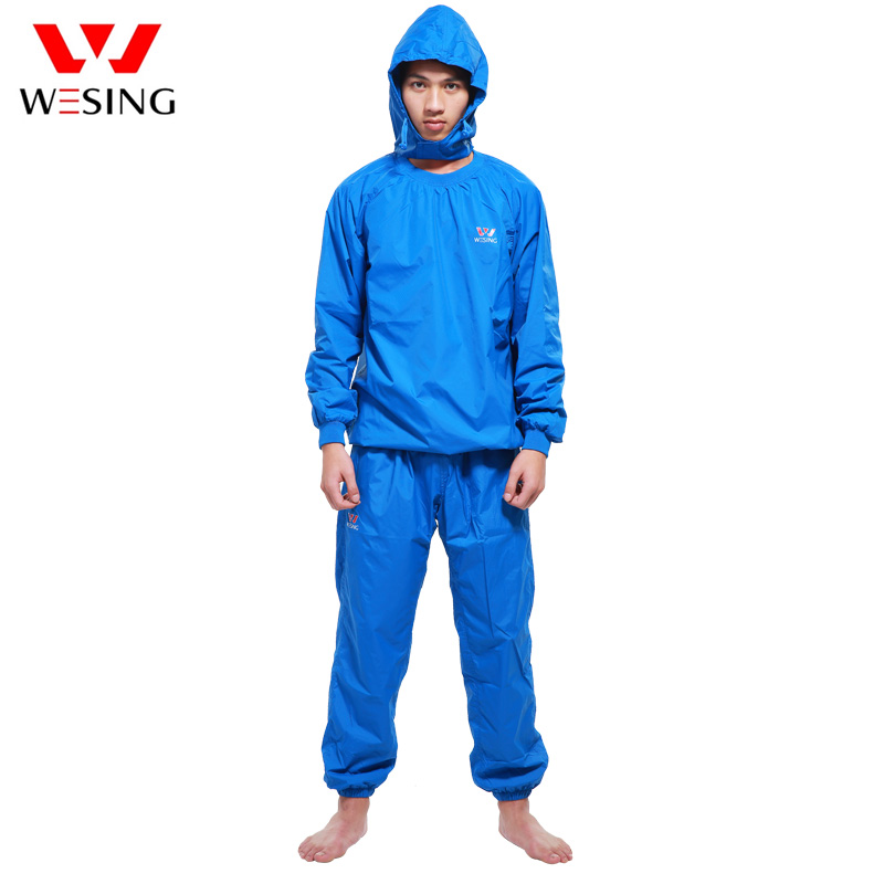 Wesing Professional Sauna Suit Athletes Weight Control Sports Suits Running Gym Clothes Sauna Equipment For Lose Weight 2504B1