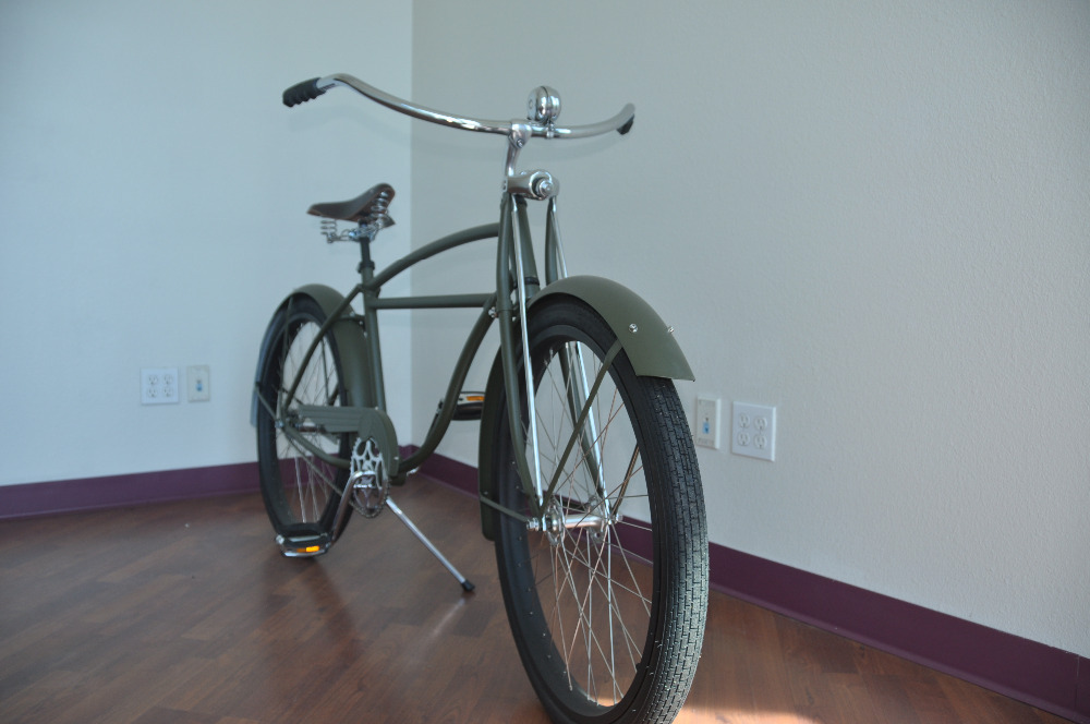 Vintage Beach Cruiser Balloon Tire 26 Springer Fork In Bicycle From Sports Entertainment On Aliexpress Alibaba Group