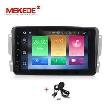 PX5 Android 8.0 4 г Оперативная память 32 г Встроенная Память автомобиля GPS Радио Стерео DVD RDS плеер для Benz W209 W203 w463 Viano W639 Vito 8 дюймов Восьмиядерный