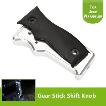 Aluminium Alloy Shift Knob Knife Shape Gear Stick Handle Shifter Transmission Car Gear S For Jeep Wrangler 2007-2016