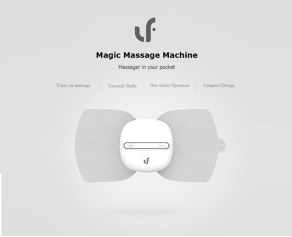 Оригинальный Xiaomi Mi дома электрические TENS Импульсный Терапевтический массажный инструмент иглоукалывание оснастки электродные накладки