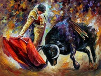 Framed Painting By Number Coloring By Numbers For Home Decor Hand Painted Canvas Painting Corrida Dangerous