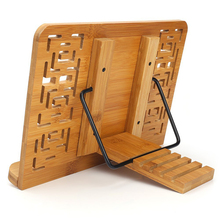 Foldable Tablet PC textbook/Music Document Stand / Desk Bookrest with Retro Hollow Elegant Pattern