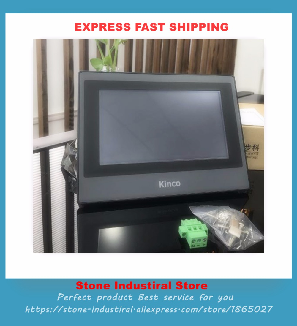 лучшая цена New MT4434TE HMI Touch Screen Panel 7 inch TFT LCD 800*480 Ethernet 1 USB Host with box