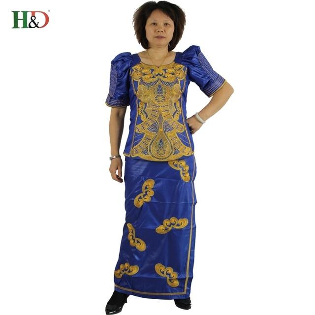 h&d african dresses woman clothing riche bazin dashiki material