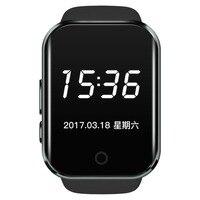 Yeni moda F1 Uyku Monitör Kare SmartWatch MT2502 Destek SIM Kart Bluetooth itin ve eşitler destek Android & IOS sistemi