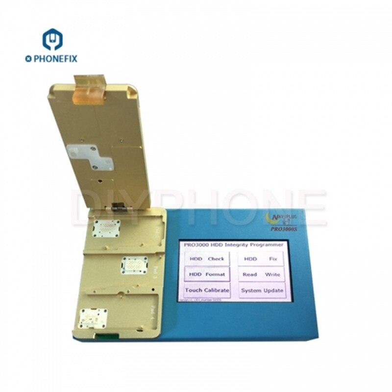 PHONEFIX Naviplus Pro 3000S NAND programcı Pro3000S SN okuma yazma onarım aracı için iPad 2 3 4 5 6 kilidini iCloud onarım|Elektrikli Alet Setleri|   - AliExpress