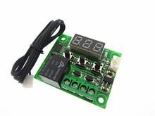 5 pièces W1209 DC 12 V chaleur cool temp thermostat interrupteur de contrôle de température régulateur de température thermomètre thermo contrôleur