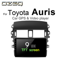 OZGQ Android 7.1 Car Player For Toyota Auris 2006 2012 Car GPS Auto Navi BT Radio TV Audio Video Music Stereo