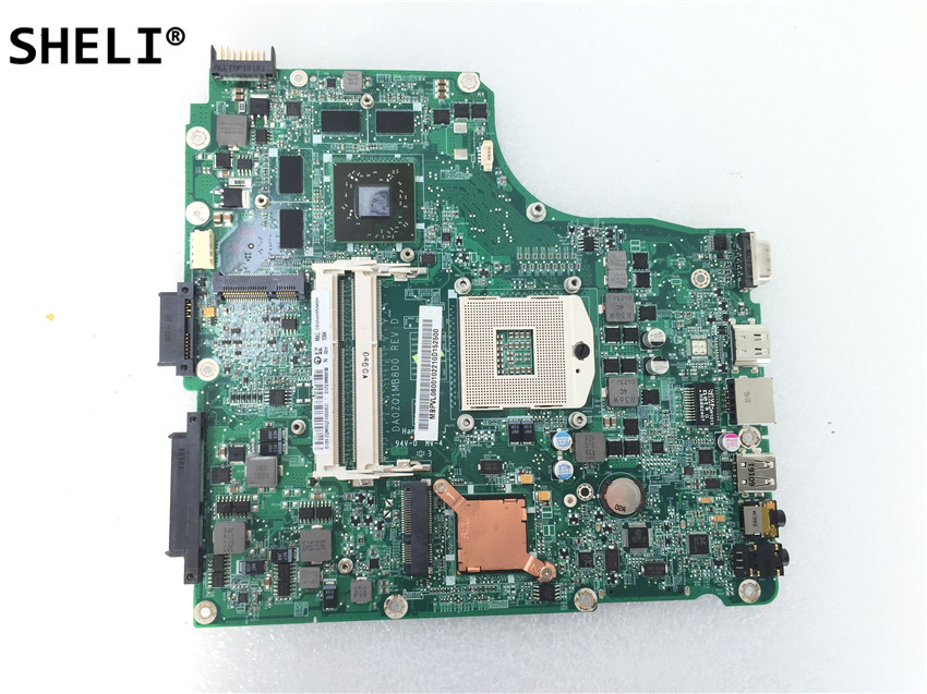 SHELI For <font><b>Acer</b></font> aspire 4820 <font><b>4820TG</b></font> Laptop Motherboard DA0ZQ1MB8D0 image