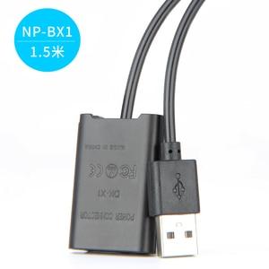 Image 5 - Kamera mobilna ładowarka zasilająca kabel USB DK X1 DK X1 DC łącznik NP BX1 NPBX1 manekina bateria do sony DSC RX1 DSC RX100 RX1R