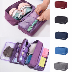 Bra Underwear Packing Cubes Organizer Trip Luggage Waterproof Travel Bag for Women Pouch Case Suitcase Space Saver Package