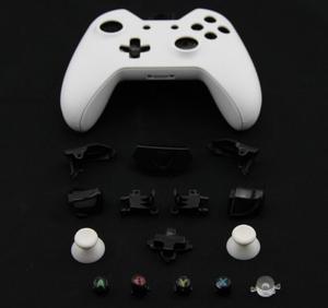 Image 1 - ゲームアクセサリーのためのxbox oneワイヤレスコントローラフルハウジングの交換シェルやボタンケース硬質表面