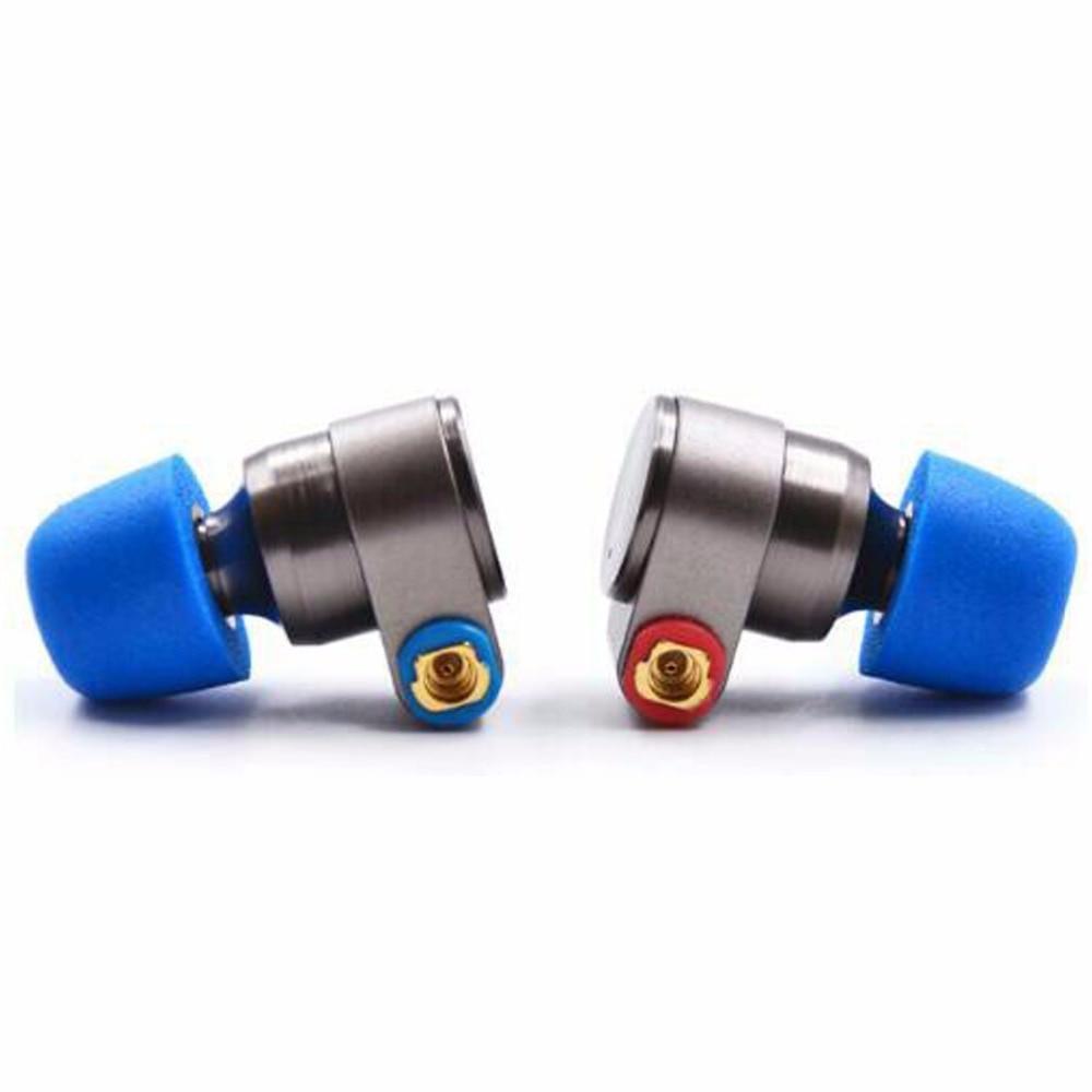 New TIN Audio T2 3.5mm In Ear Earphone Double Dynamic Drive HIFI Earphone Bass DJ Metal Earphone MMCX Earphone Headset Earplug