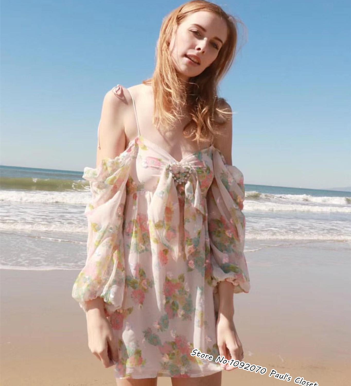 Femmes perle coeur boucle Georgina balançoire robe avec brodé irisé Sequin cœurs