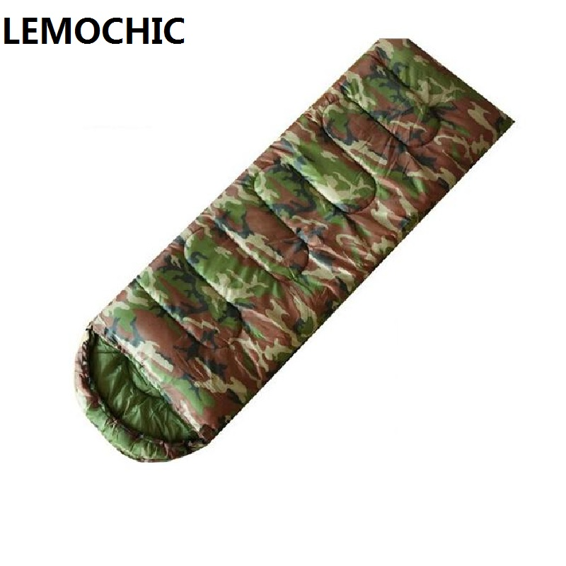 outdoor travel Camouflage military Tactical waterproof army emergency sleep bag camping portable emergency compact sleeping bag