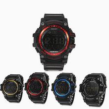 AIWATCH XWATCH Deporte Podómetro Reloj Inteligente de Cronógrafo 5ATM Impermeable Smartwatch Llamada Mensaje Recordatorio Reloj para Android IOS