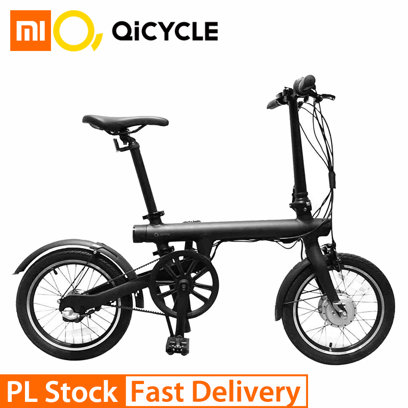 Xiaomi QiCYCLE EF1 Smart Bicycle Fordable Bike Torque Sensor Moped Electric Bikes Aluminum Alloy Lightweight International Ver
