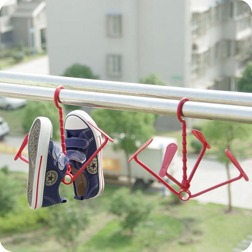 5 Adet / grup İşlevli yaratıcı Ayakkabı raf kurutma rafları - Mobilya - Fotoğraf 5