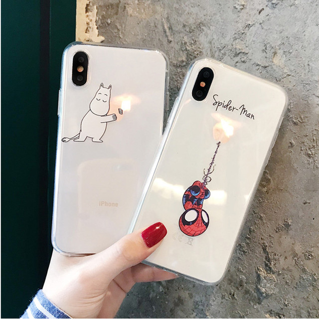Funny Cartoon Case for iPhone
