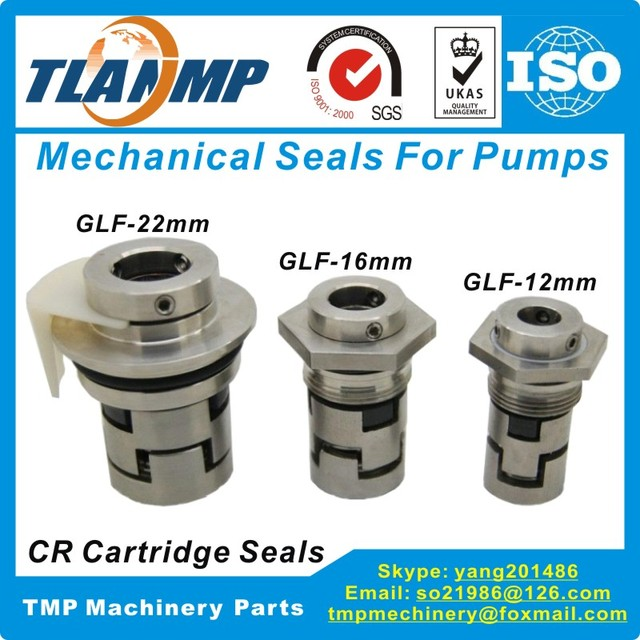 GLF-16 JMK-16 Mechanical Seals for CR10/CR15/CR20 Multi-stage Pumps|Shaft  Size 16mm Cartridge Seals (HQQV/HQQE/CR/CRI/CRN16)