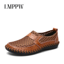 High Quality Outdoor Men Sandals Summer Casual Shoes Soft Breathable Lightweight Men Mesh Water Shoes Big Size Chaussure Homme цена