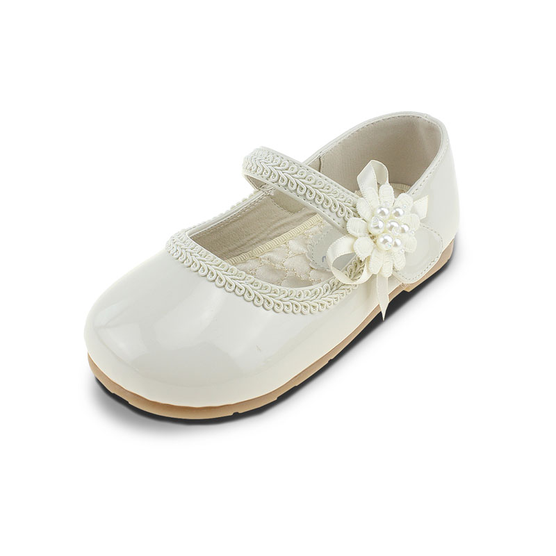 MSMAX Dress Party Princess Shoes For Girls Children Pu Leather Flower  Beading Oxford Sneakers Kids Wedding Single Shoes-in Leather Shoes from  Mother   Kids ... 1f0f169c0540