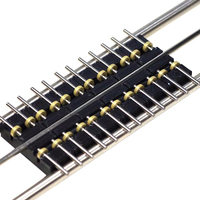 6Pcs 50cm 1:87 Model Train HO Scale DIY Accessories Treadmill Track without Connecting Line for HO Scale Model