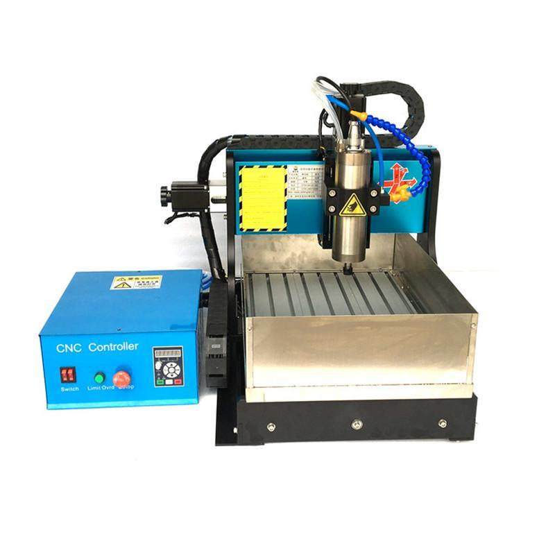 JFT CNC Engraver Machine with Water Tank 800W 4 Axis CNC Router with Parallel Port Mainly Used for Engraving and Milling 3040 cnc 5axis a aixs rotary axis t chuck type for cnc router cnc milling machine best quality