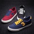Новое Прибытие 2016 Мужчины Повседневная Обувь Дышащей Обуви для Мужчин Повседневная Zapatos Мужские Холст Обувь Zapatos Размер 38-44