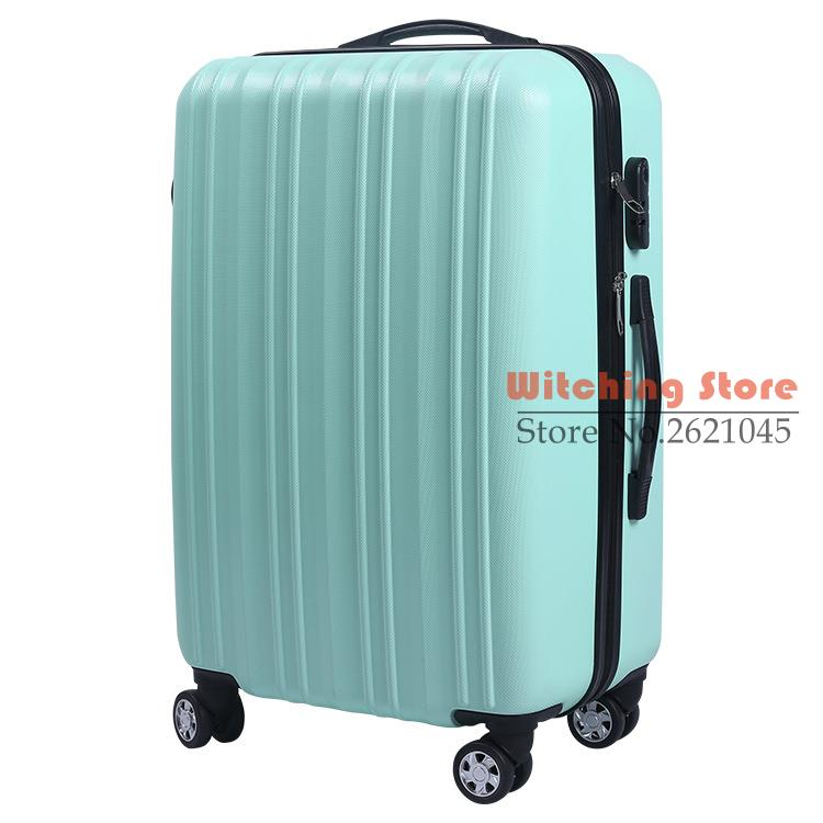 24 INCH 2024 new pull rod 24 suitcase waterproof travel to The check box EC FREE