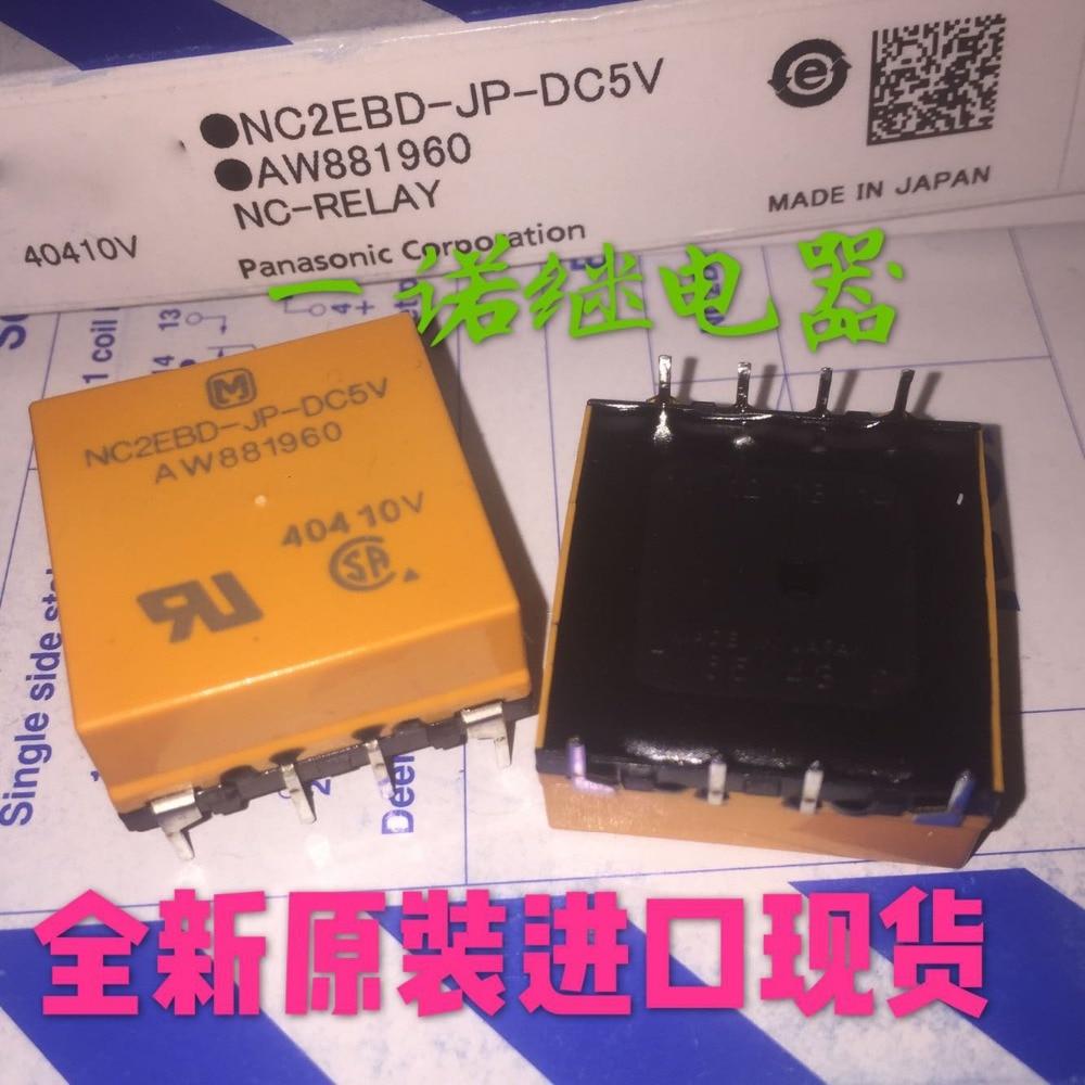 relay NC2EBD-JP-DC5V AW881960 NC2EBD-JP-5VDC 5VDC DC5V 5V  8PIN hot new relay hf6 73 5v hf6 relays 5v 5vdc dc5v 5v sop 2pcs lot