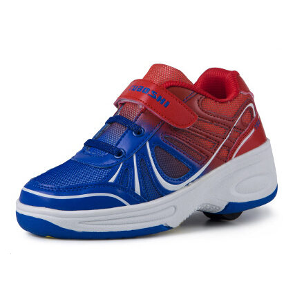 b570a0eae1930 Chaussures avec roues pour les enfants 5 - 12 ans garçons filles printemps  automne enfants chaussures