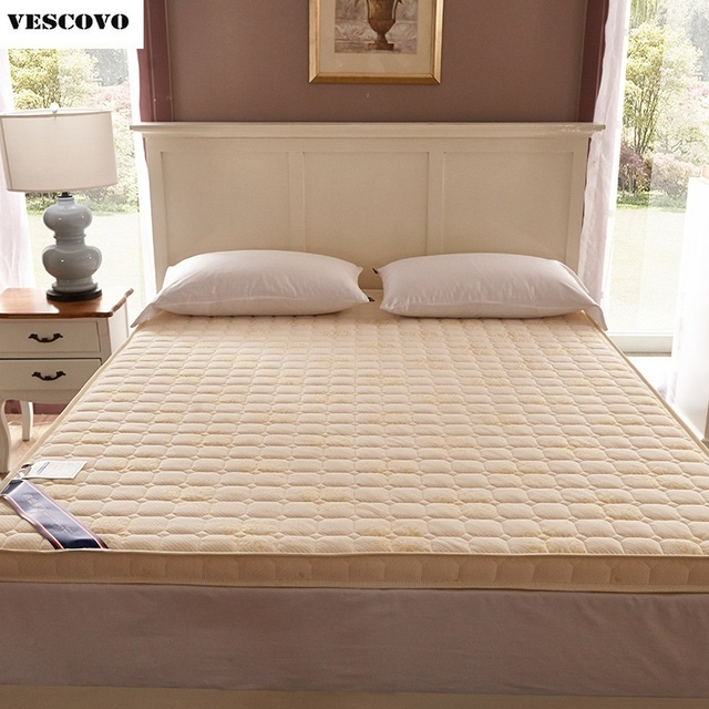 Luxury 100% Cotton Quilted Mattress filled massage thicken 7cm memory foam mattress