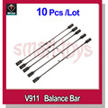 10pcs new V911 Balance Bar / Upgrade Flybar for V911 V911-1 V911-pro V911-V2 Helicopter parts