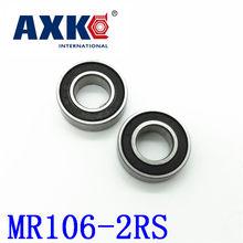 2019 Koop Real Rolamentos Axk Gratis Verzending Hoge Kwaliteit 10Pcs Mr106-2rs Abec-5 6*10*3 Mm Miniatuur kogellagers Mr106rs L1060