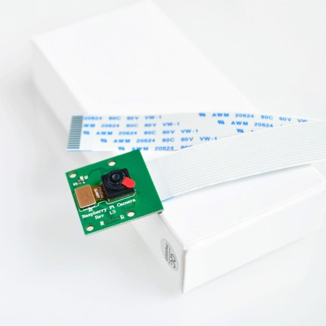 Marca New 1 Pcs Camera Módulo Board REV 1.3 5MP Webcam Video 1080 p 720 p Rápido Para Raspberry Pi 3