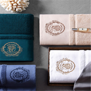 2019 five star hotel pure cotton bath towel household adult men and women embroidery jacquard bath towel