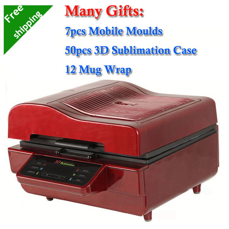 7 Mobile Moulds 50pcs Sublimation Blanks Case 12 Mug Wrap Printing Package 3D Sublimation Vacuum font