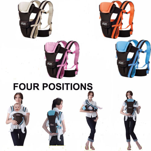 Have An Inquiring Mind Newborn Infant Baby Carrier Breathable Ergonomic Adjustable Wrap Sling Backpack