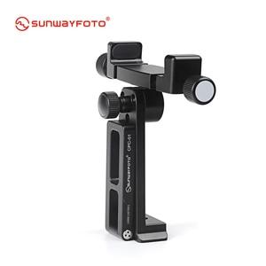 Image 2 - SUNWAYFOTO CPC 01 携帯電話アクセサリー専門のデスクとスタンドプロ三脚電話ホルダーブラケット