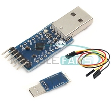 USB 2.0 to TTL UART 6PIN Module Serial Converter CP2104 STC PRGMR Replace CP2102(China (Mainland))