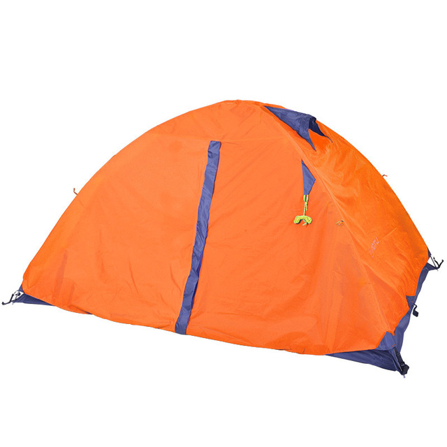 Tent 2 Person  210T PU 4000 waterproof Fabric Double Layers Rainproof Camping Tent Outdoor Tent 4 Season