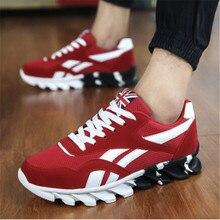 Primavera otoño hombres Zapatillas de deporte de los hombres entrenadores zapatillas zapatos deportivos zapatos Para Correr transpirable zapatillas de deporte zapatos A17