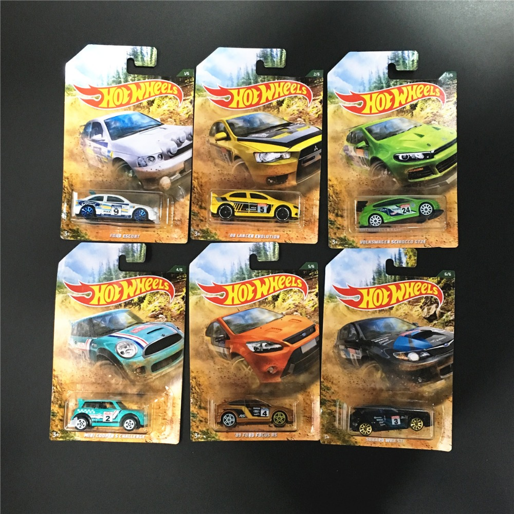 Hot Wheels Car 1:64 Wilderness Rally Racing Collector Edition Metal Diecast Cars Collection Kids Toys Vehicle For Christmas Gift