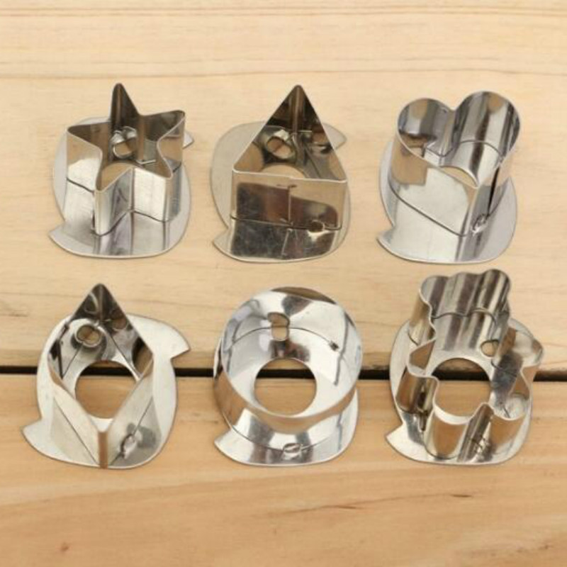 3D Scenario Stainless Steel Cookie Cutter Set Gingerbread Cake Biscuit Mould Fondant Cutter 7