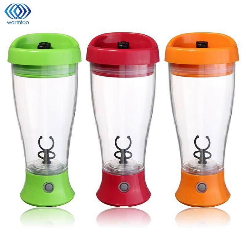 Electric Protein Shaker Auto Stirring Mug Blender Lazy Self Stir Tornado Nutrition Mixer Bottle Cup 350ML Fitness Portable 450ml portable vortex electric blender protein shaker smart mixer cup automatic movement intelligent diy drinking